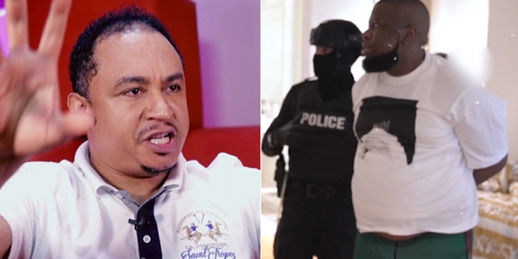 Nigerians Drag Daddy Freeze For Dining With Hushpuppi In Dubai