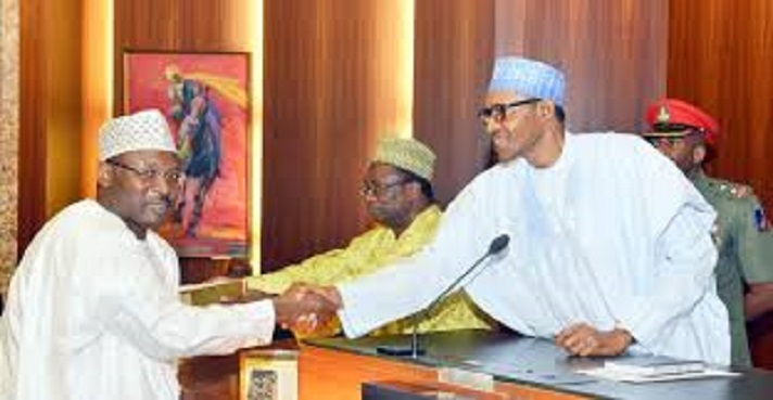 President Buhari Reappoints INEC Chairman, Yakubu Mahmood For Another 5-year Term
