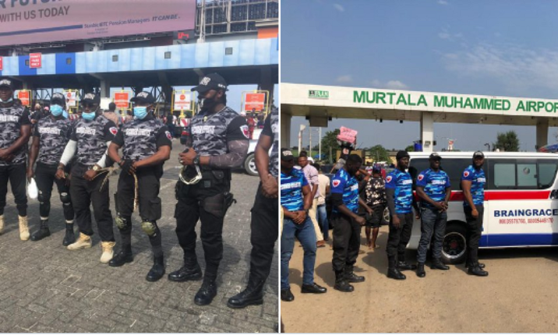 #EndSARS Protesters Pay Private Security Agencies To Protect Them Against Hoodlums (Photo)
