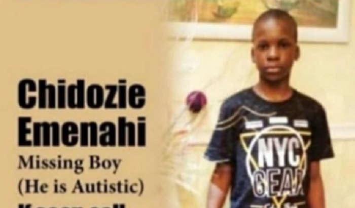 10-Year-Old Autistic Boy Declared Missing In Lagos State