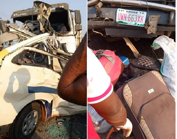 Five Children, Nine Others Dead As Truck Rams Into Passenger Bus In Kogi State