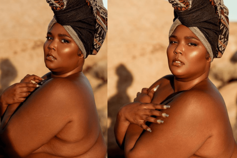 American Singer, Lizzo Poses In Only Her Panties (PHOTOS)