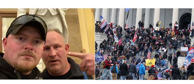 2 Virginia Police Officers Face Charges For Their Roles In The U.S. Capitol Riot
