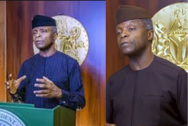 Address The Concerns Without Killing The Goose That Might Lay The Golden Egg - VP Osinbajo Speaks Against Ban On Cryptocurrency