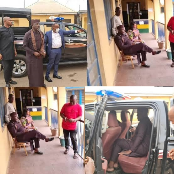 Senator Okorocha Arrested For Unsealing Hotel Seized By The Imo State Government {Photos/Video}