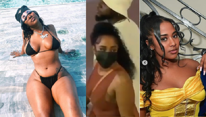 Check Out 20 Hot Photos Of Mya Yafai, The Model Davido Was Spotted Holding Hands With In St.Maarten