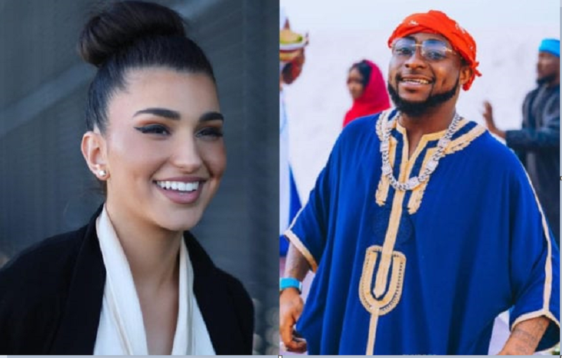 American Singer Enisa Reacts To Talks About The Possibility Of Her And Davido Dating