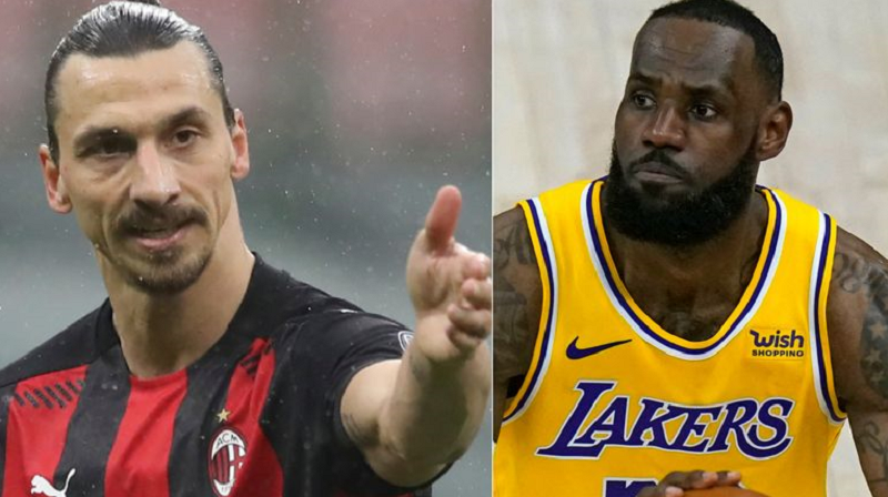 I'm The Wrong Guy To Go At' - LeBron James Responds To Zlatan Ibrahimovic's Criticism Of His Political Activism {Video}