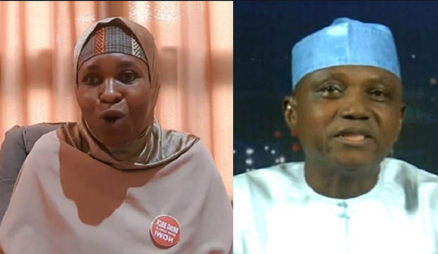 ''You Cannot Bring Down What Is Already Down'' - Aisha Yesufu Replies Garba Shehu Who Said Nobody Can Bring Down Buhari's Government