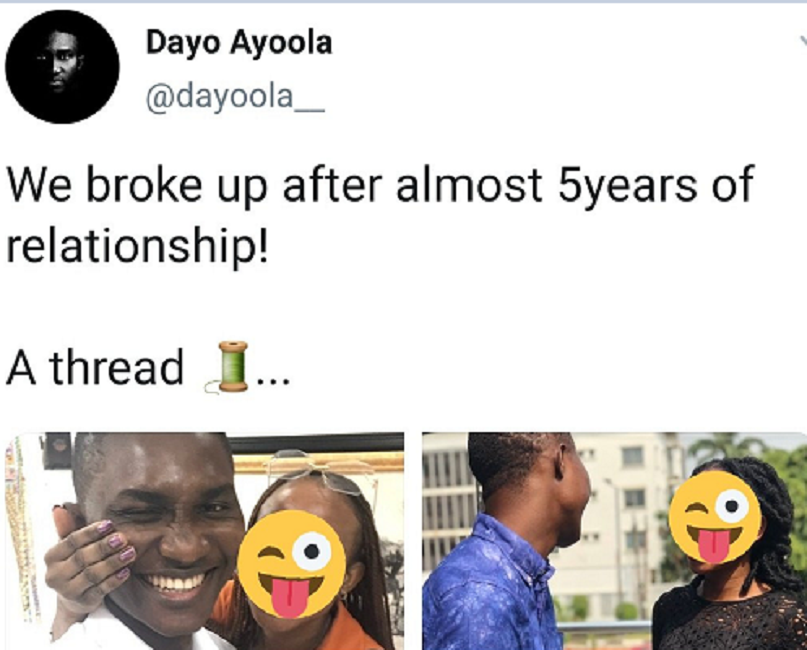 Man Who Once Forgave His Girlfriend For Allegedly Getting Pregnant For Her Ex-Boyfriend While They Were Still Dating, Calls Off Their 5-yr-Old Relationship Over Allegations Of Cheating
