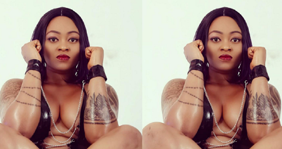 Nigerian Porn Star, Marame Edet 'Ugly Galz' Reacts after A Follower Said He Sees Her Private Part For Free