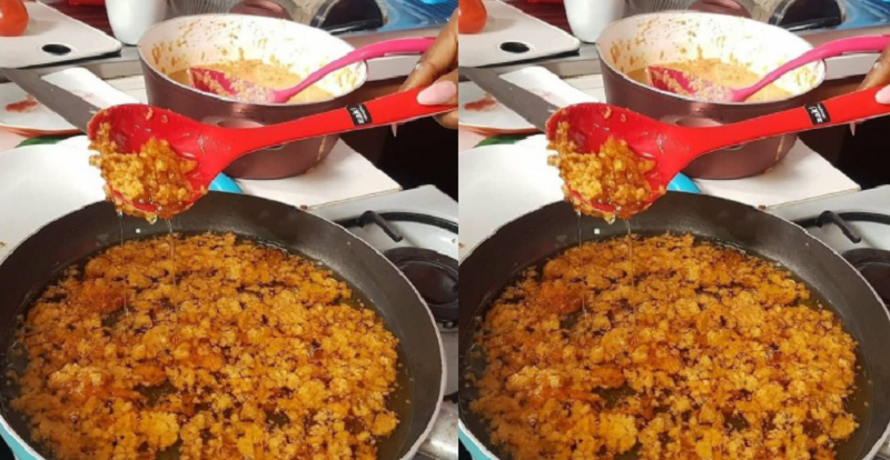 Nigerain Female Causes A Stir Online After Sharing Photo Of The ''Akara'' Her Friend Made
