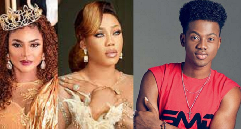 Iyabo Ojo, Korede Bello, Others Console Celebrity Stylist Toyin Lawani As She Mourns Her Father's Death