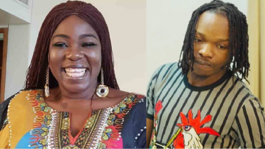 """""""You're An Imbecile. I Regret The Day I Hugged You"""" Actress, Ada Ameh Blasts Naira Marley Over His Sexual Fantasy {Video}"""