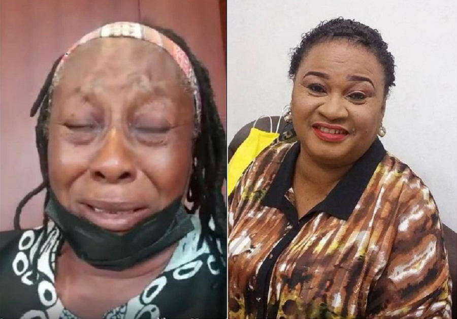 Actress, Patience Ozokwo, Breaks Down In Tears Following The Demise Of Her Friend And Colleague Rachel Oniga