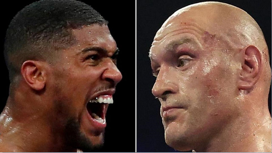 Anthony Joshua Vows To 'Smoke' Bitter Rival Tyson Fury When They Meet