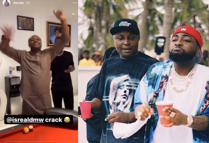Davido Lifts Suspension Of His Logistics Manager, Israel DMW {Video}